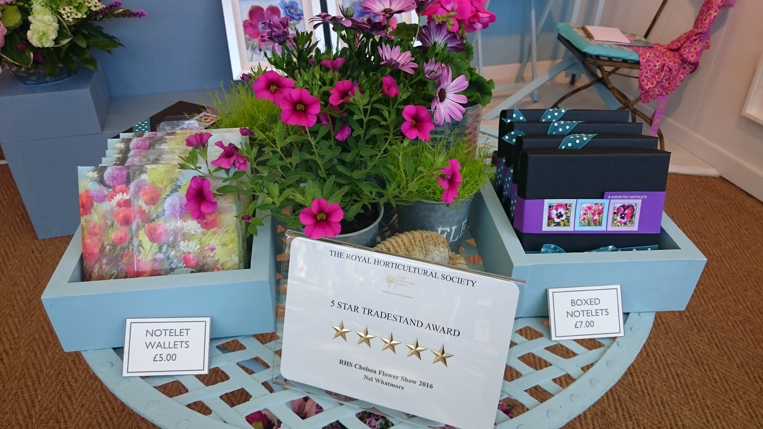 Five Star Award at Chelsea Flower Show