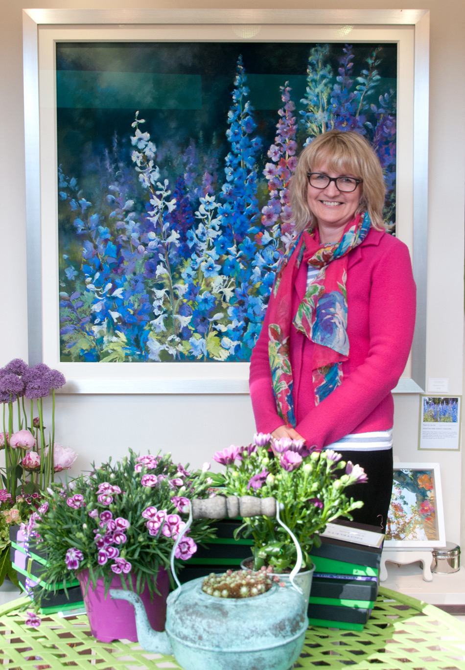 Centre Piece Painting at Chelsea Flower Show 2015