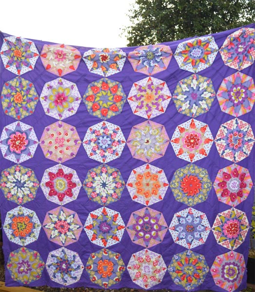 Secret Garden Quilt Top