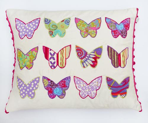 Katherine's Wheel Butterfly Cushion