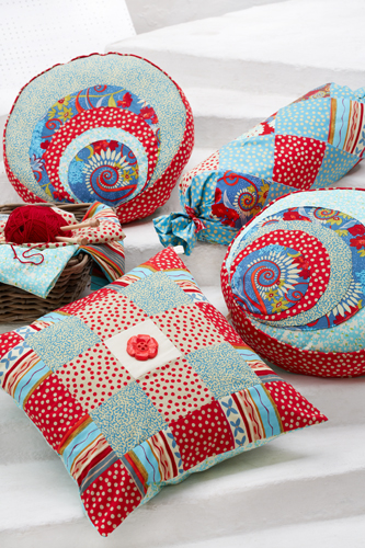 Katherine's Wheel Mixed Cushions