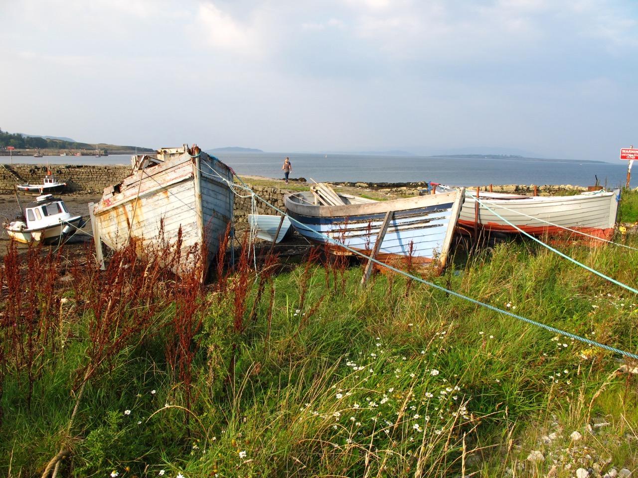 Boats on the Isle of Skye