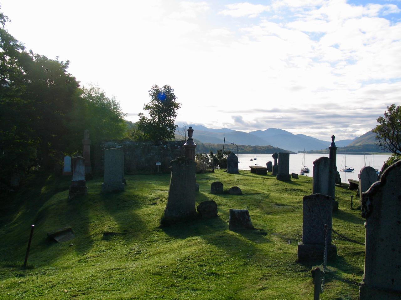 Overlooking Loch Broom