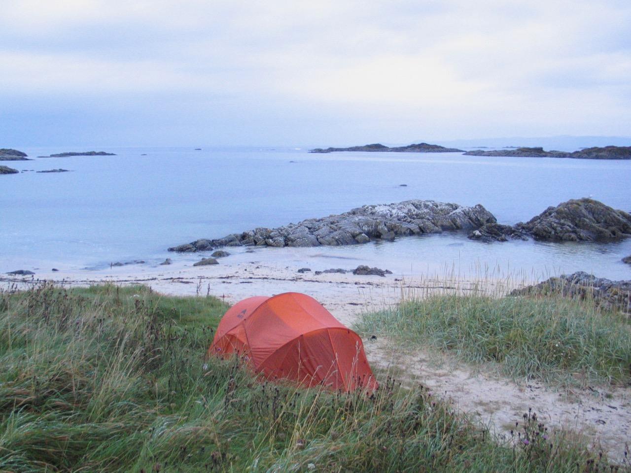 Camping Arisaig