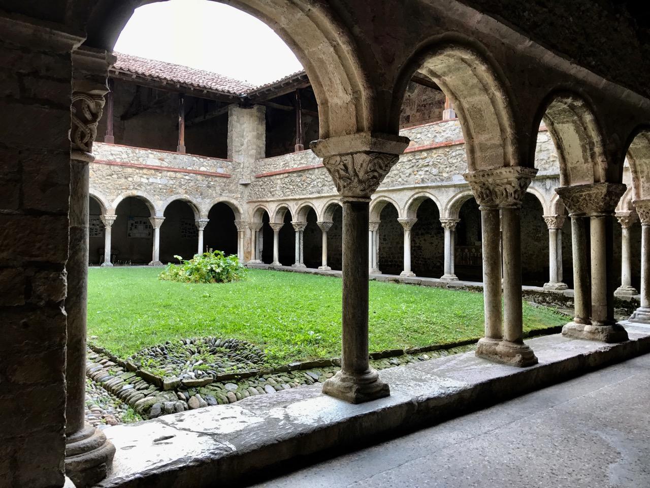 Abbeye St.-Lizier Midi-Pyrenees