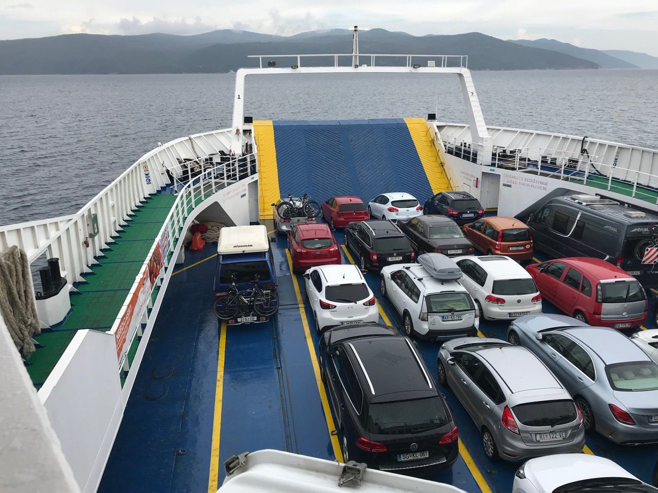 Ferry to Cres
