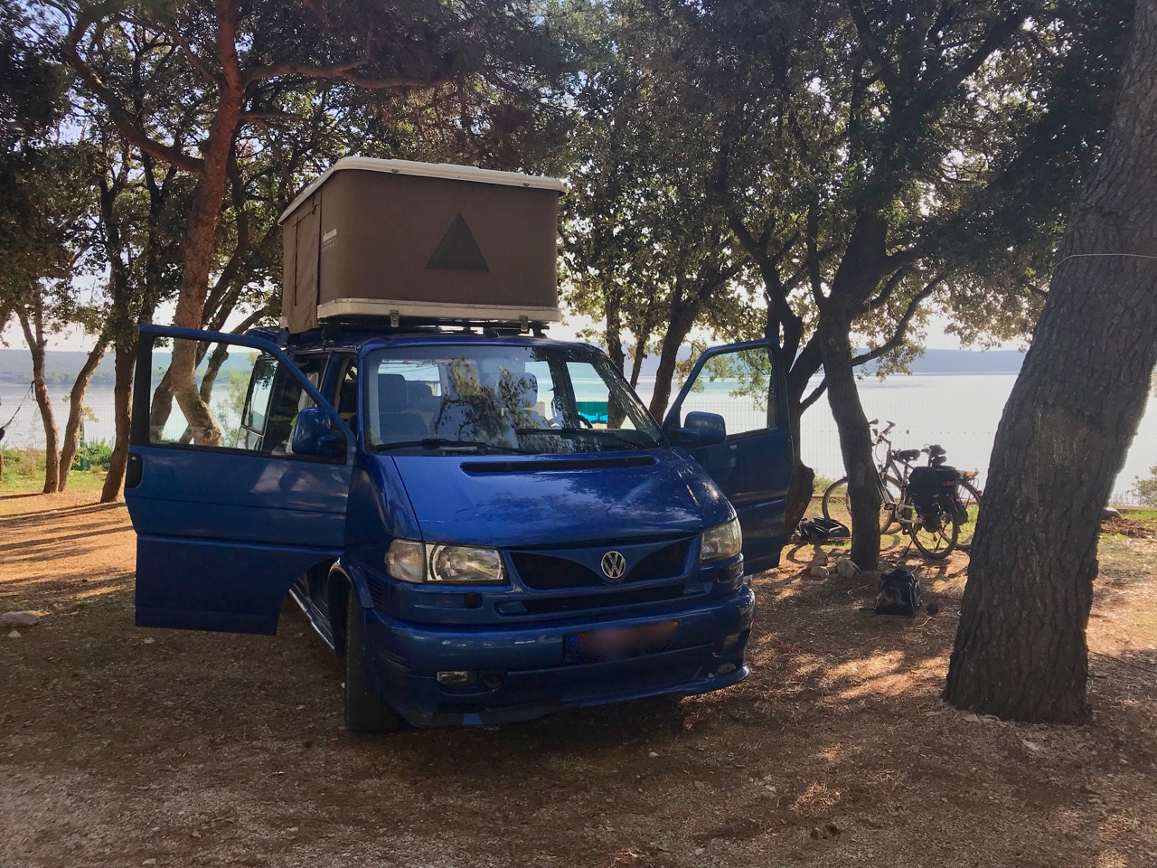 Camping on Losinj