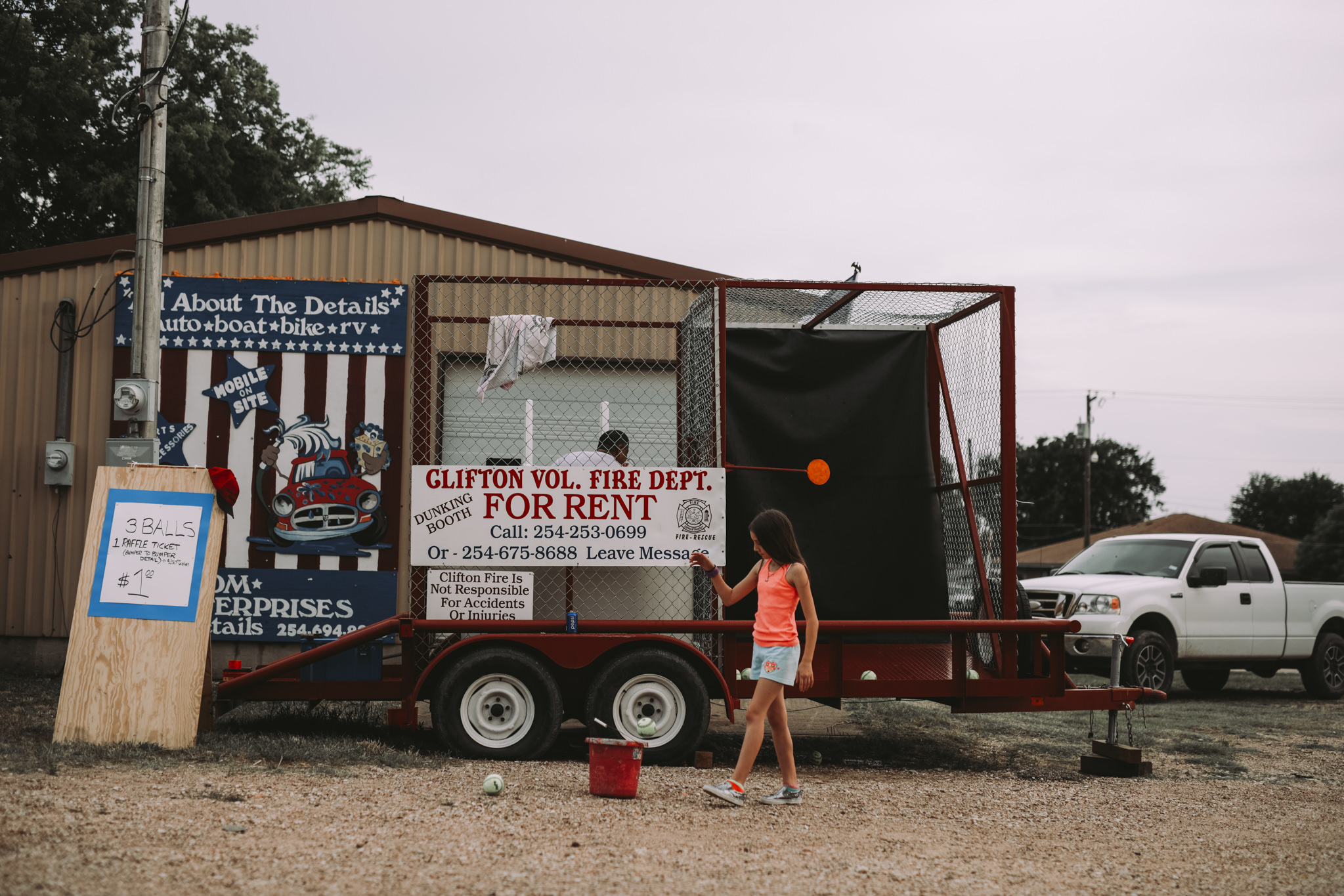 Memorial Day Concert | Clifton VFD Dunk Booth |Whitney, TX