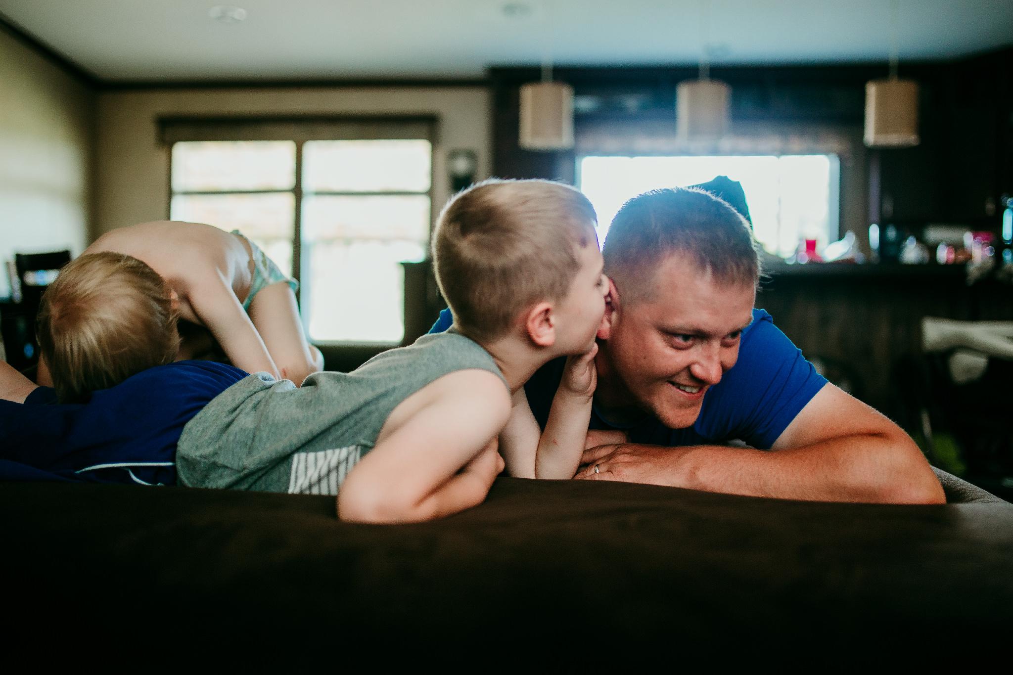 Good Dads keep your secrets safe.