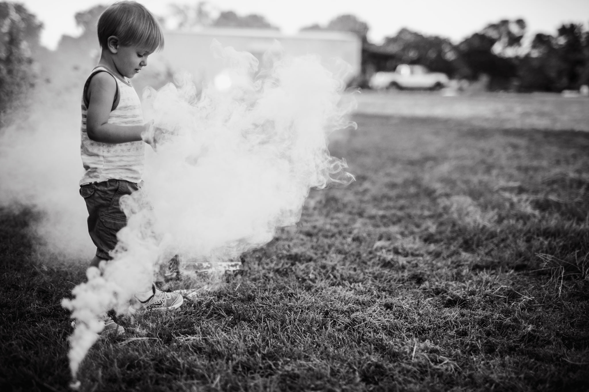 Smoke bombs are the best!