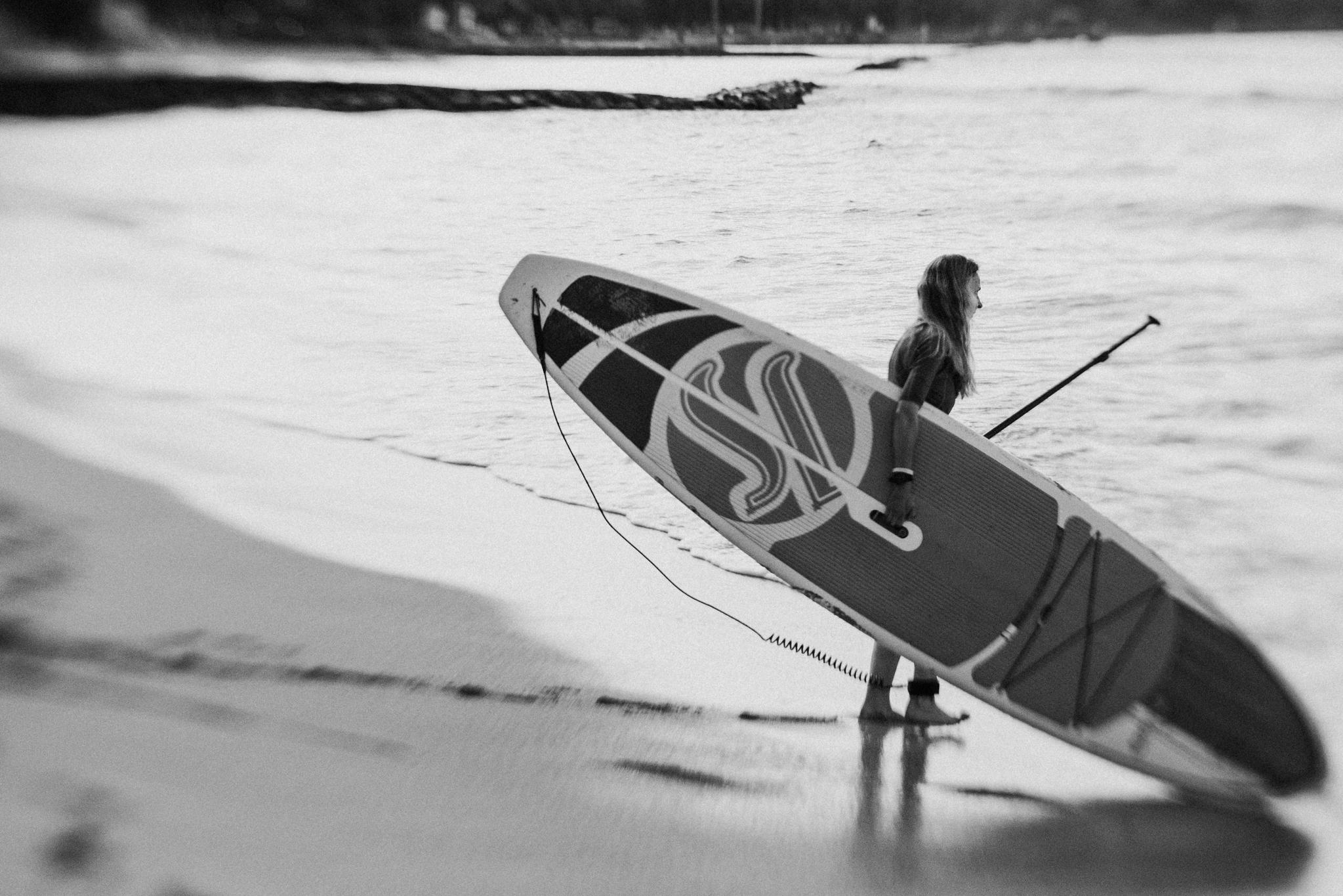 Paddle Board - Oahu, Hawaii