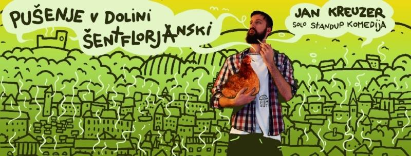 Pušenje v Dolini šentflorjanski Jan Kreuzer standup komedija