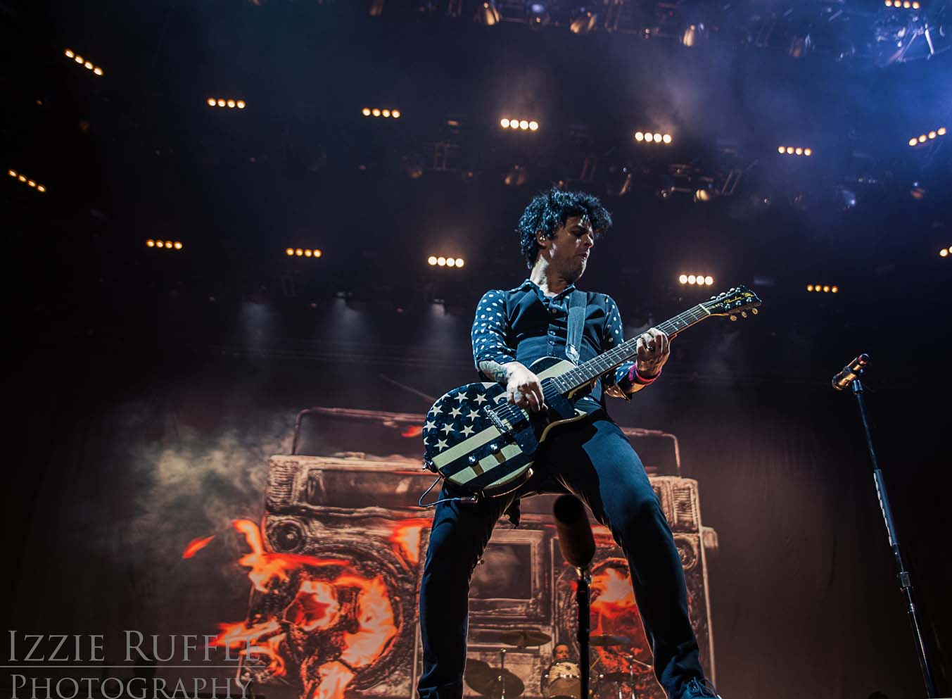 Green Day at the O2 Arena, photo: Izzie Ruffle