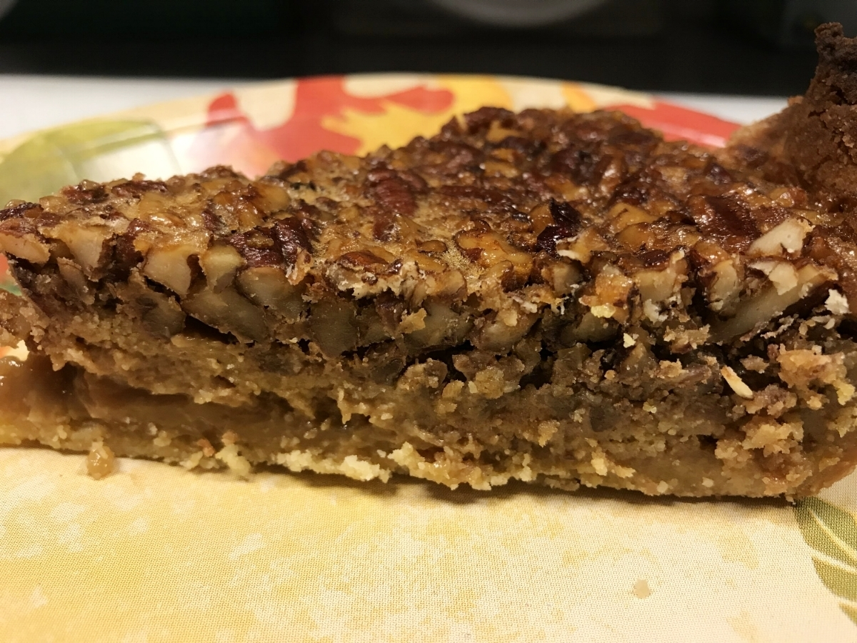 Tried and True Pecan Pie Low-carb High-Fat Keto Friendly