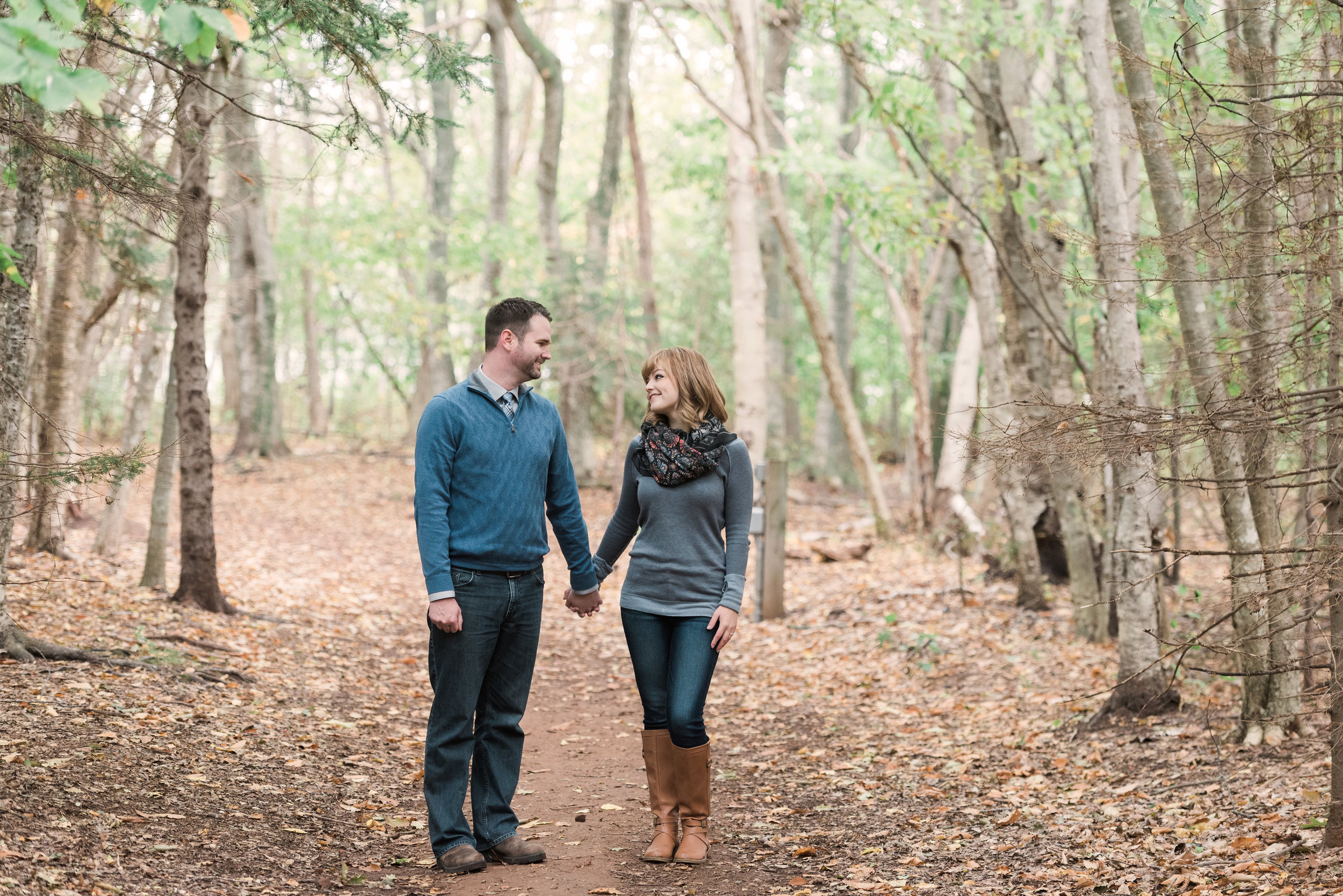A shot from our engagement photos, October 2015 at Victoria Park by  Rachel Peters Photography