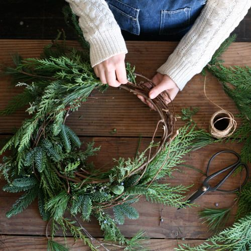 Get ready for Christmas hygge - Make your own Christmas wreath ready to spread festive cheer in your home…