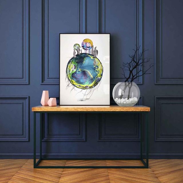 Treebiters #2 - Fine art print by Joanna Jensen AARHUSMAKERS