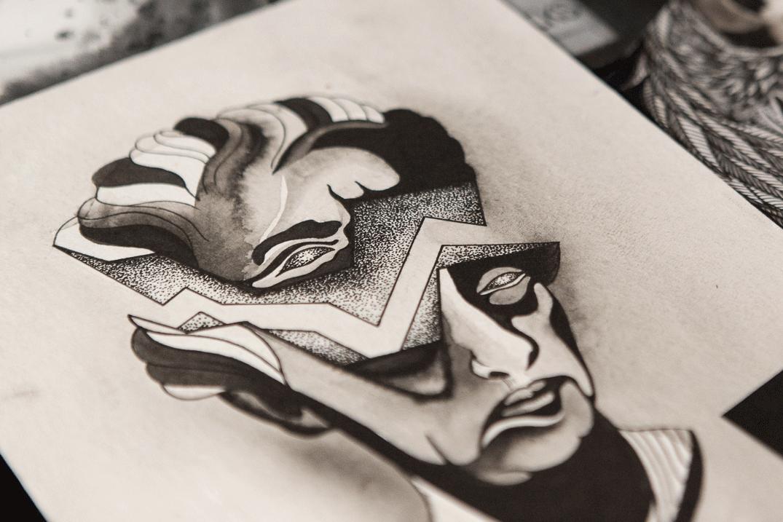 GRETHE - Original Artwork by Thomas Herman AARHUSMAKERS