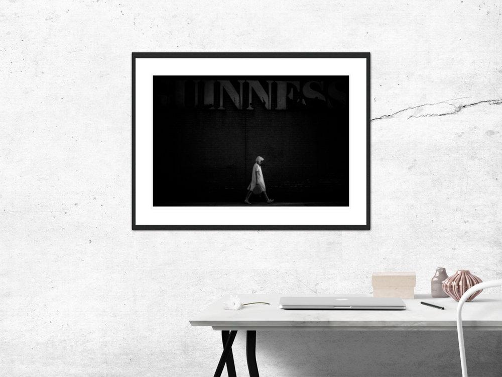 〆Dublin (Solitude Series) - Limited edition photography print by Juanjo Keena〆 AARHUSMAKERS
