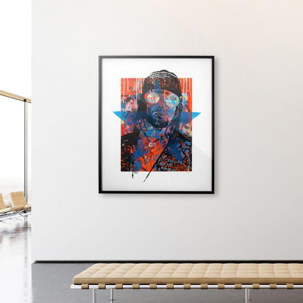 🥫Cobain - Limited edition art print by Torben Buus🥫AARHUSMAKERS