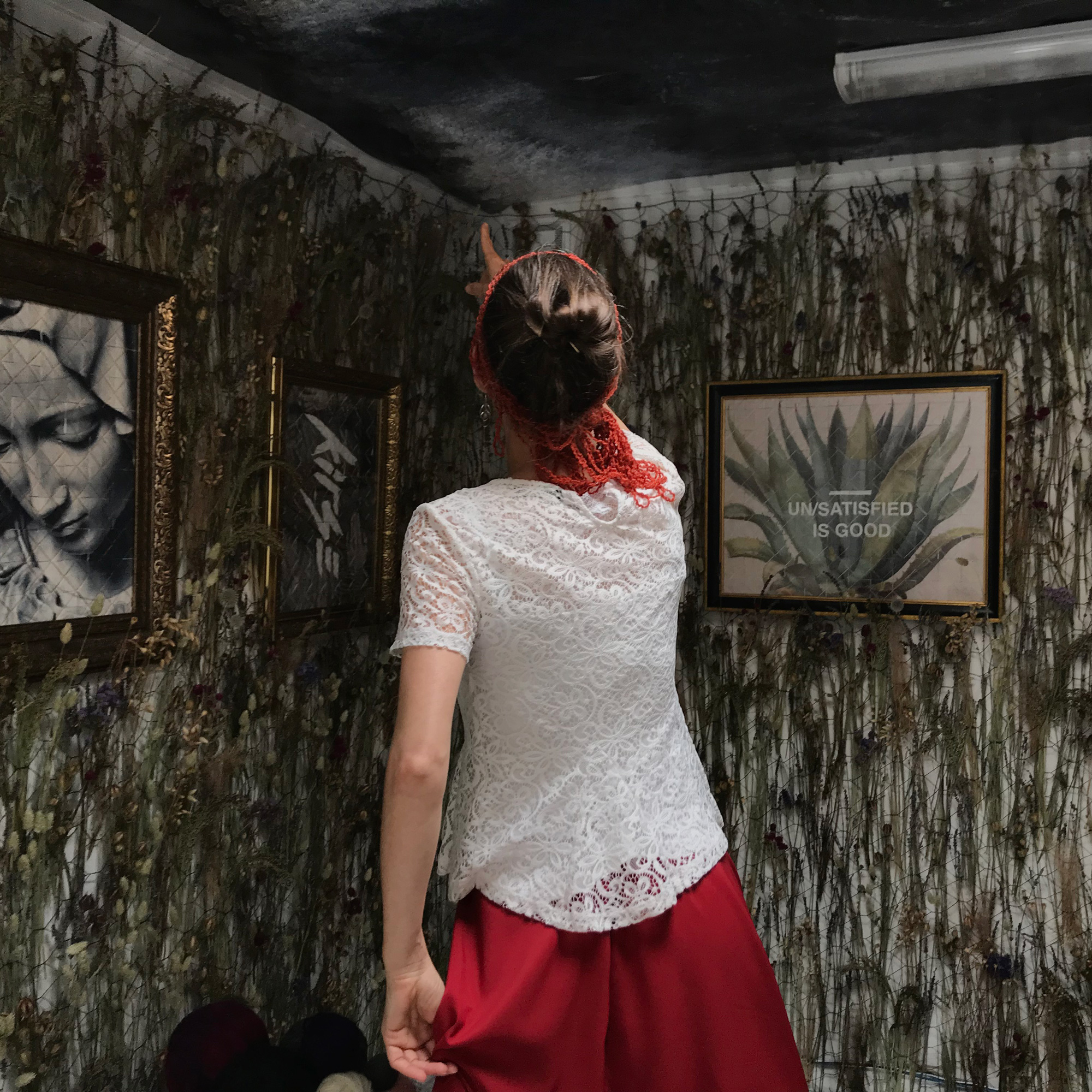 The Weaver Girl — performed by Juliana Appel at ZOLITUDE SWAMP — AARHUSMAKERS, END OF THE LINE