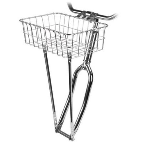 Wald 137 front basket, with mounting hardware. (silver) R 450.00
