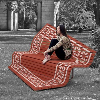 Серия уличной мебели - Ковры