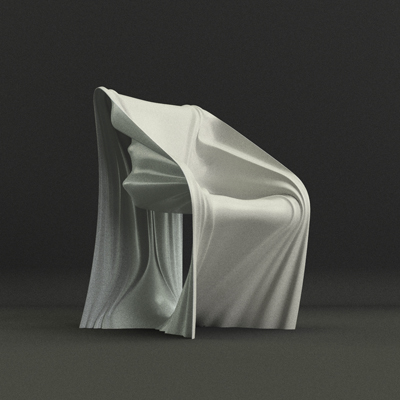 Folded chair