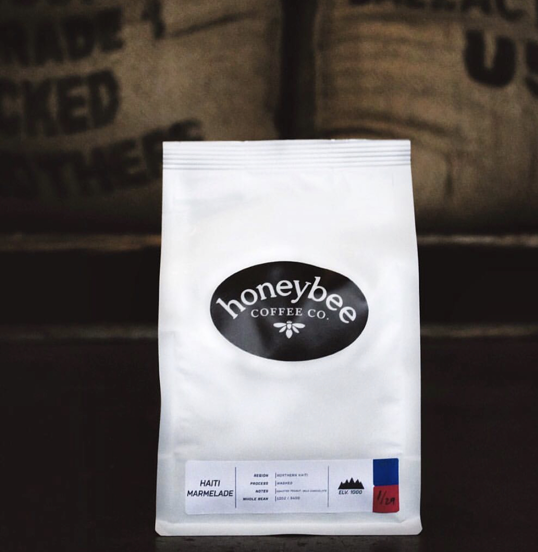 Our Haiti Marmelade retail bags are available at both cafés. $5 of every bag sold will be donated to CREOLE, Inc. to help fund their agricultural initiatives in Haiti.