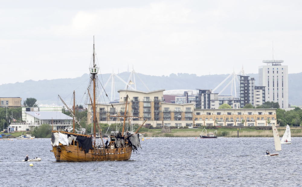 Return of the Ancient Mariner, Cardiff Bay. Image: Tim Dickeson