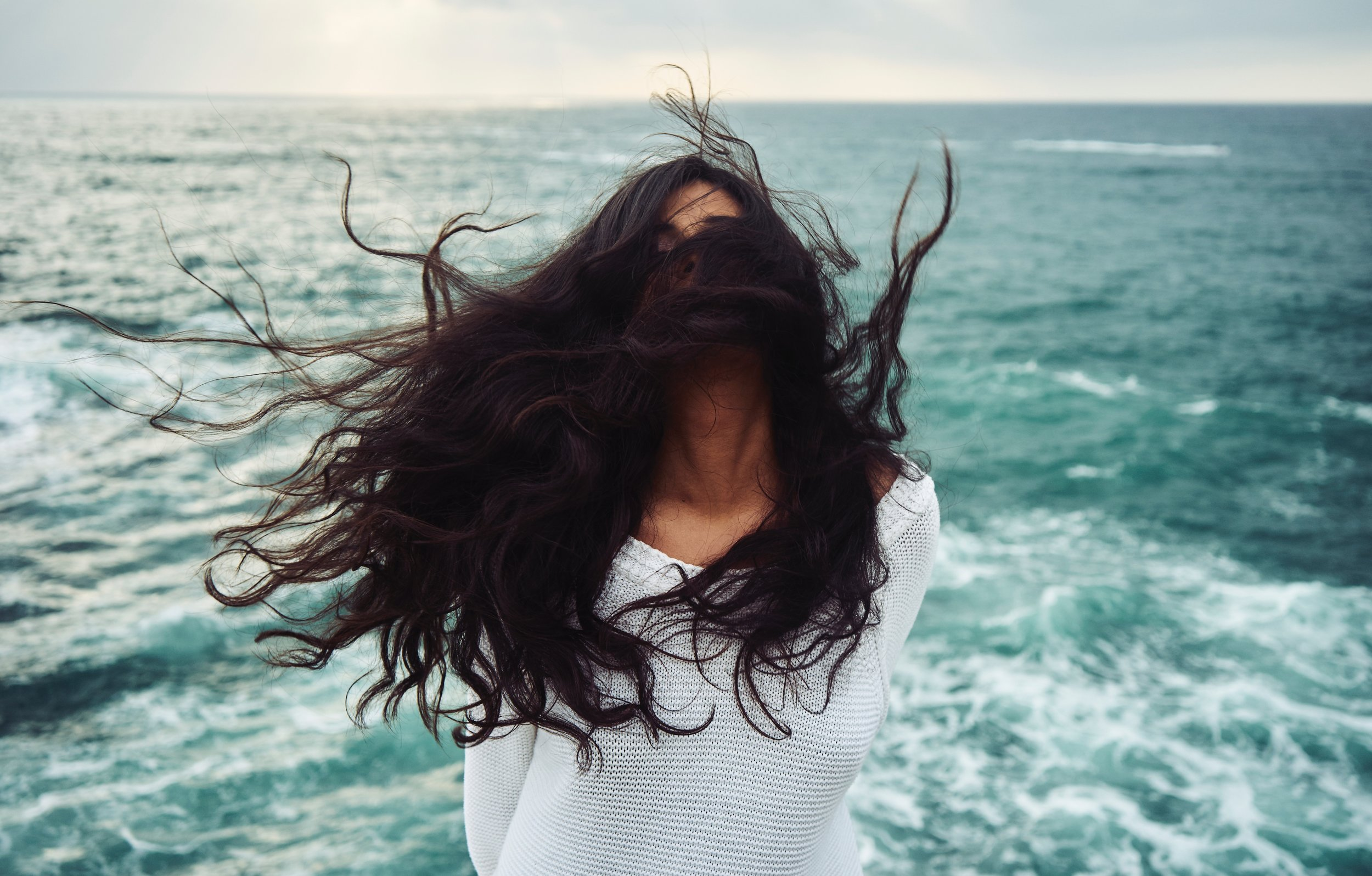 "It's likely that your ""flat hair"" is all in how you're styling it. It only takes a little effort to get a lot of volume.   Photo by  Yoann Boyer  on  Unsplash"
