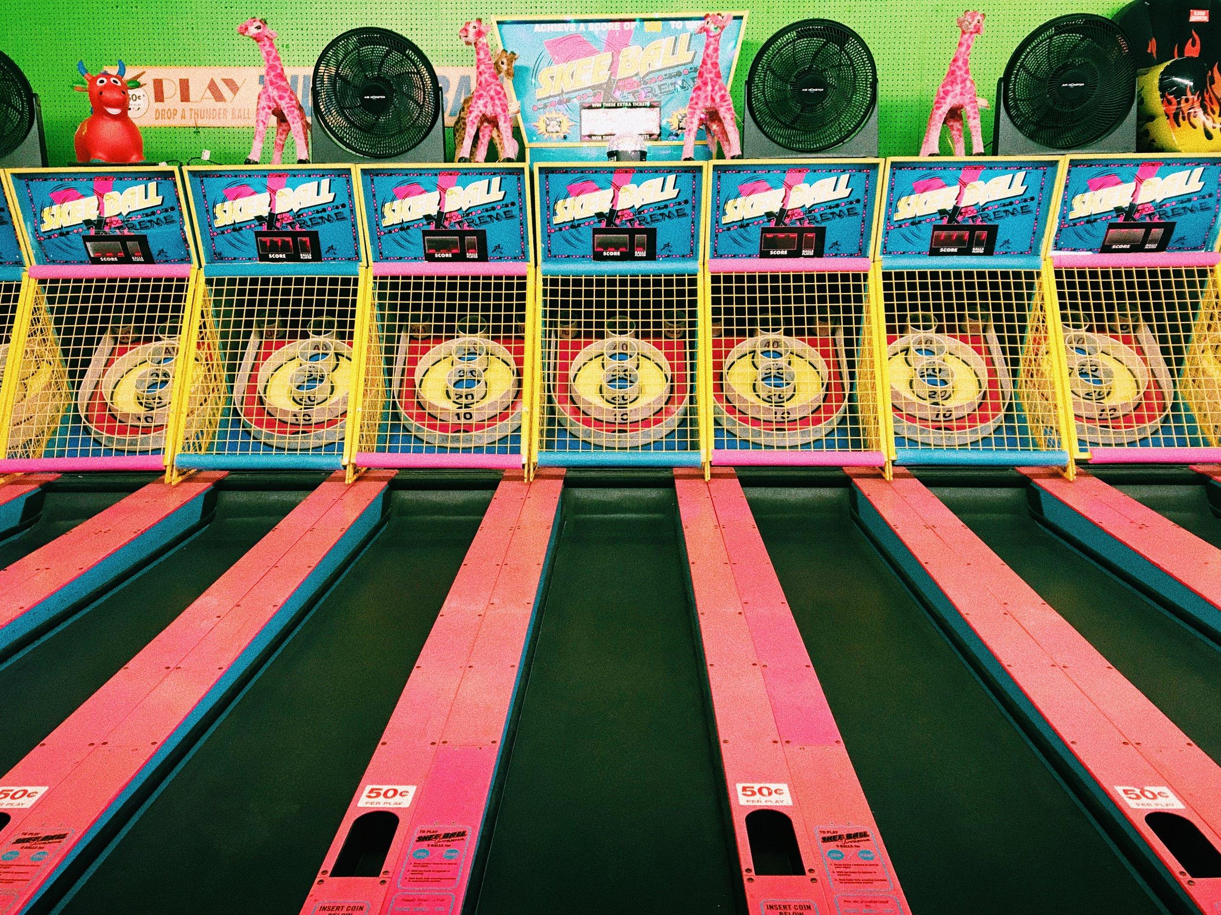 Coney Island Skee Ball