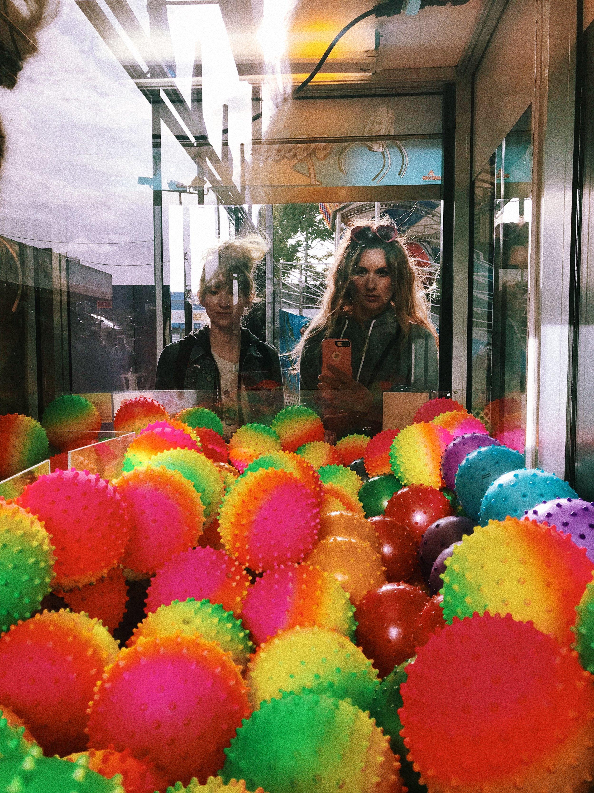Coney Island Arcade Balls