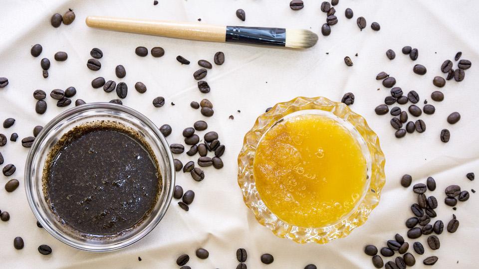 Style caster coffee scrub