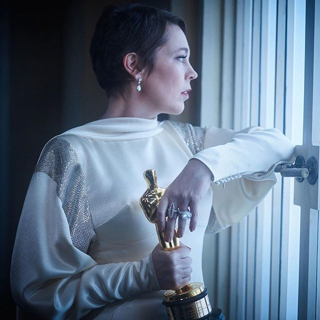 We stan the Queen. That is all. #oliviacolman #bestactress #thefavourite #oscars