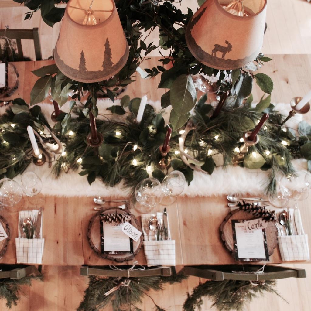 CHRISTMAS PARTY EVENT - DESIGN & TABLESCAPE