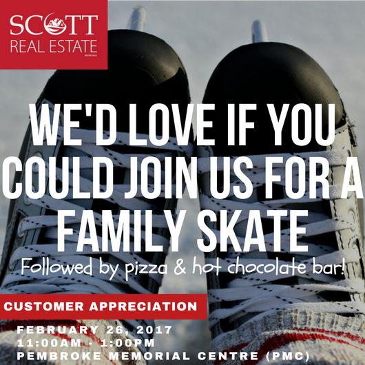 SCOTT REAL ESTATE - CUSTOMER APPRECIATION FAMILY SKATE