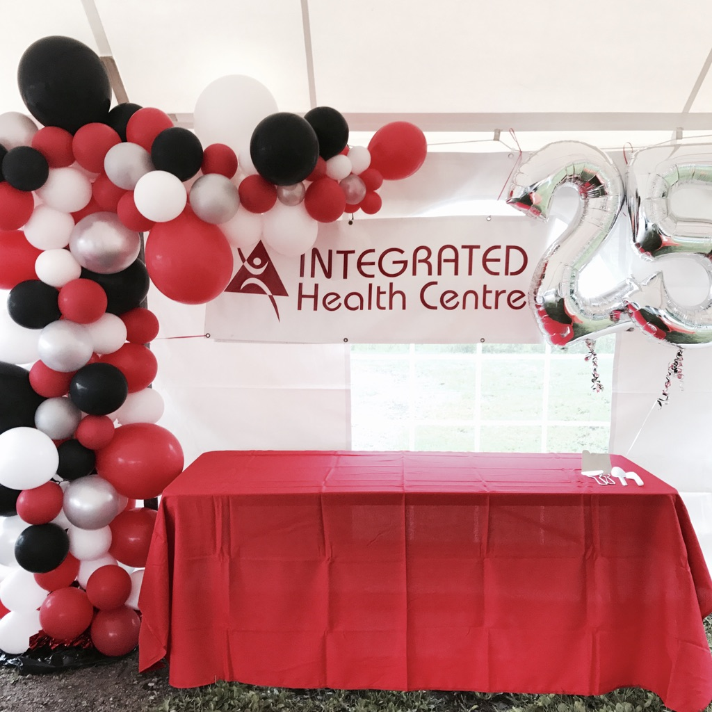 INTEGRATED HEALTH CENTRE'S 25TH BIRTHDAY BASH - EVENT COORDINATION