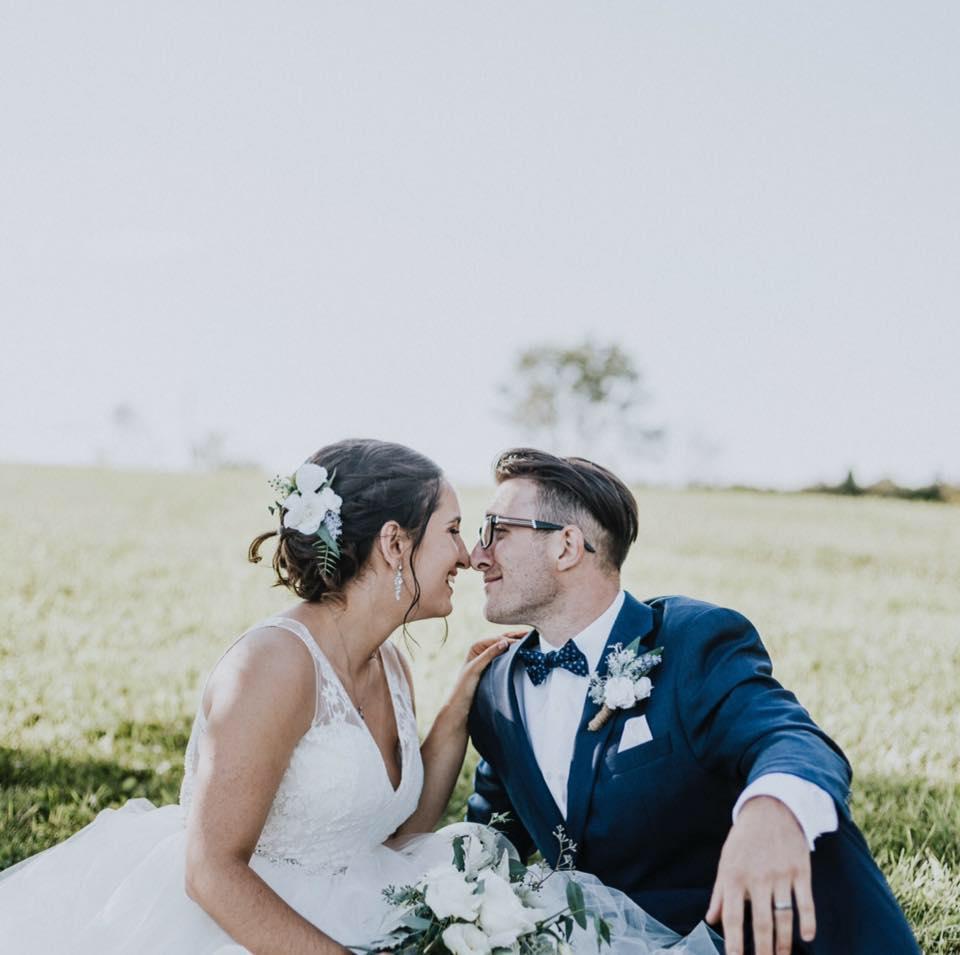 KATRINA & ALEX'S WEDDING - BARN RUSTIC GLAM SARSFIELD