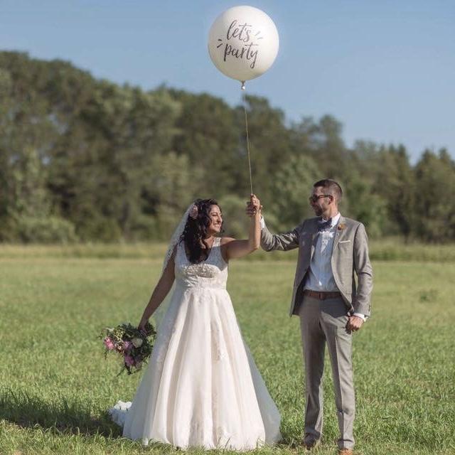 JESSICA & DAN'S WEDDING - BACKYARD GLAM BOWMANVILLE - EVENT COORD