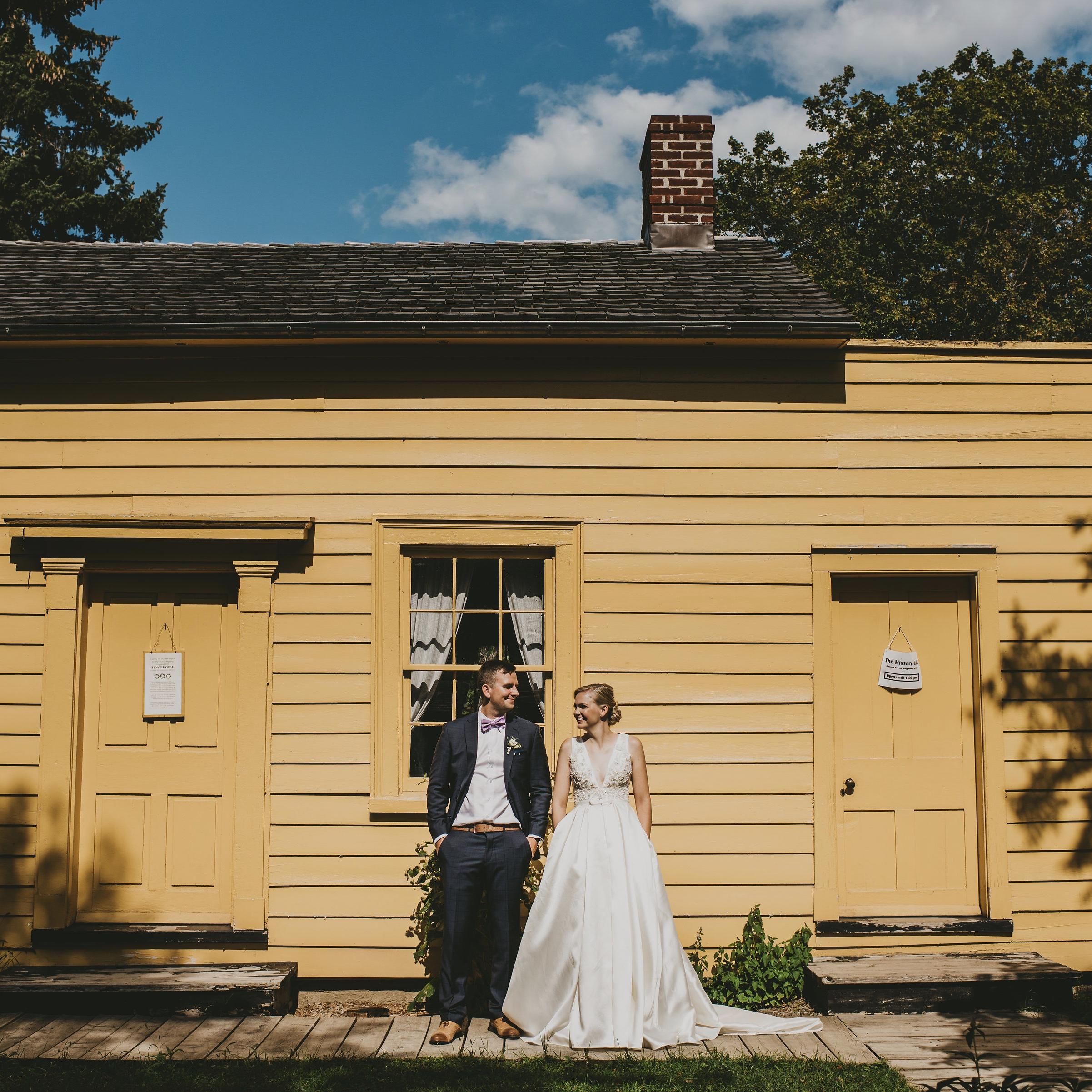 HEATHER & SHANE'S WEDDING - BLACK CREEK PIONEER VILLAGE