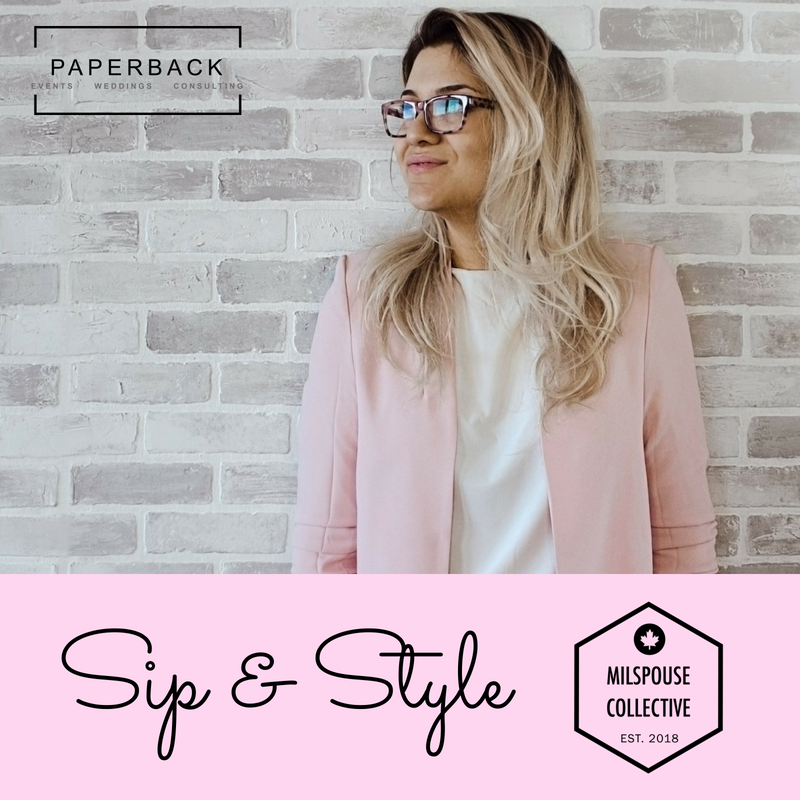 SIP & STYLE MILSPOUSE COLLECTIVE - EVENT CREATION