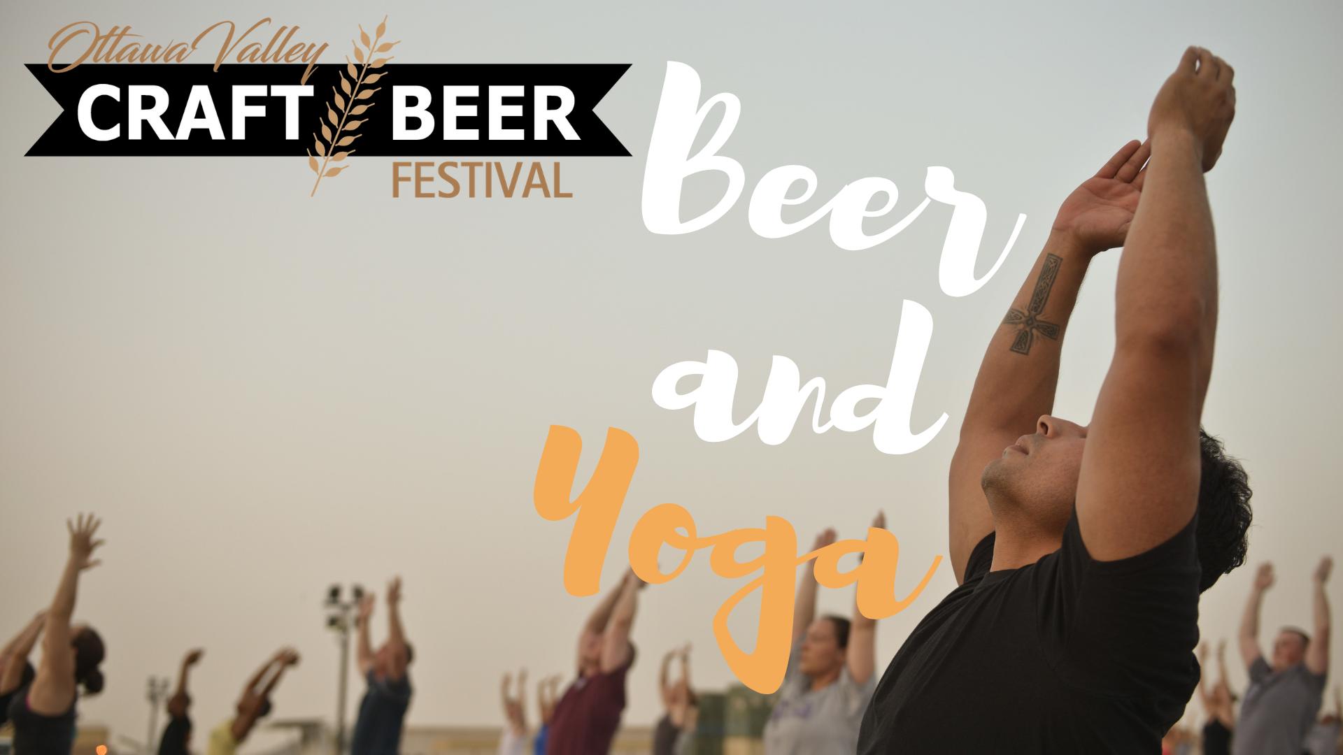 Ottawa Valley Craft Beer Festival - Beer + Yoga - White Pine Yoga
