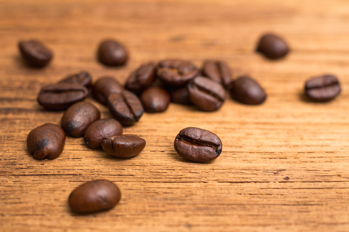 Vegan nutrition - coffee beans are full of antioxidants