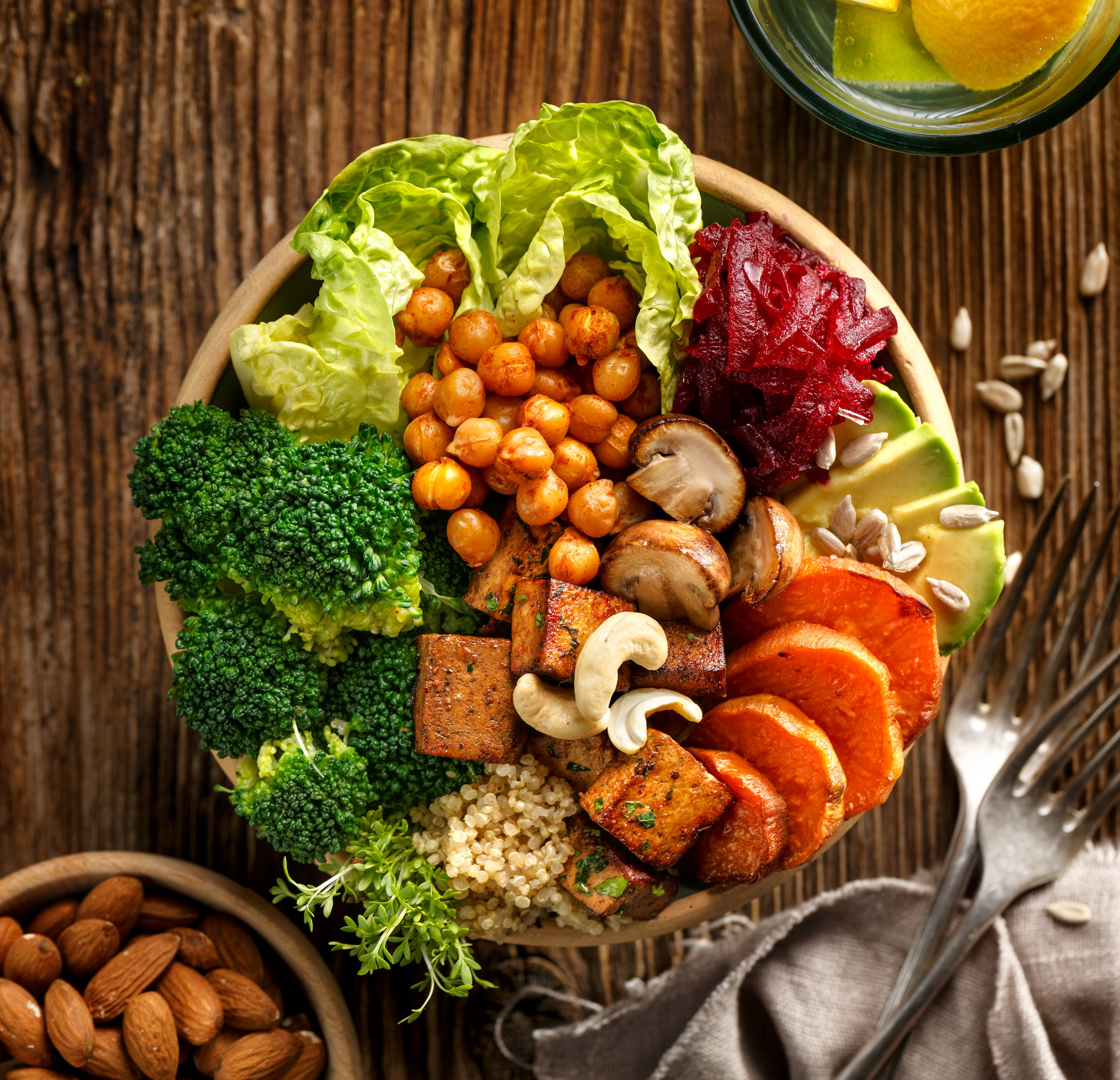 You can get an abundance of protein from vegan sources such as pulses, whole grains, tofu, vegetables, nuts and seeds - plus they come with countless health benefits