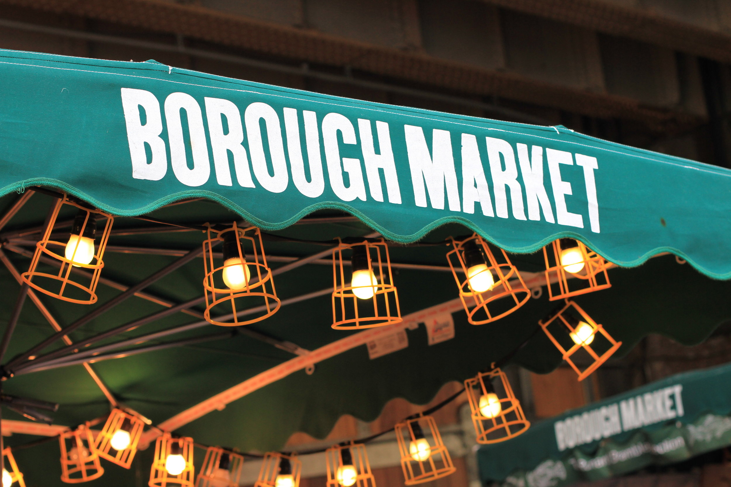A vegan guide to the street food available at Borough Market, London