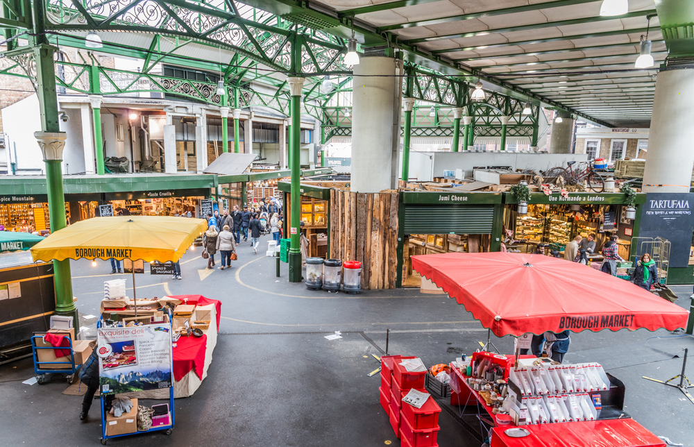There are loads of vegan options at Borough Market if you know where to look