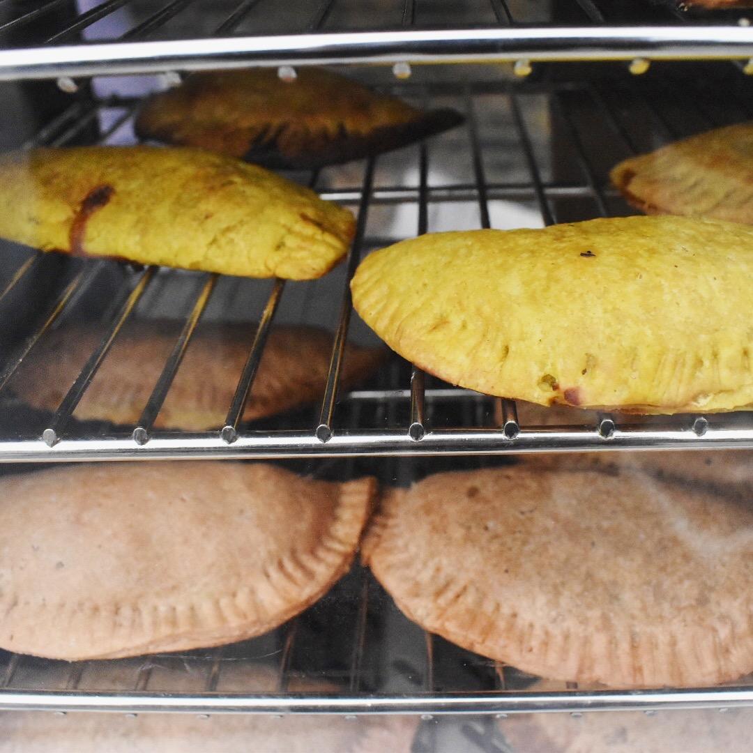 dee's table Jamaican vegan pasties