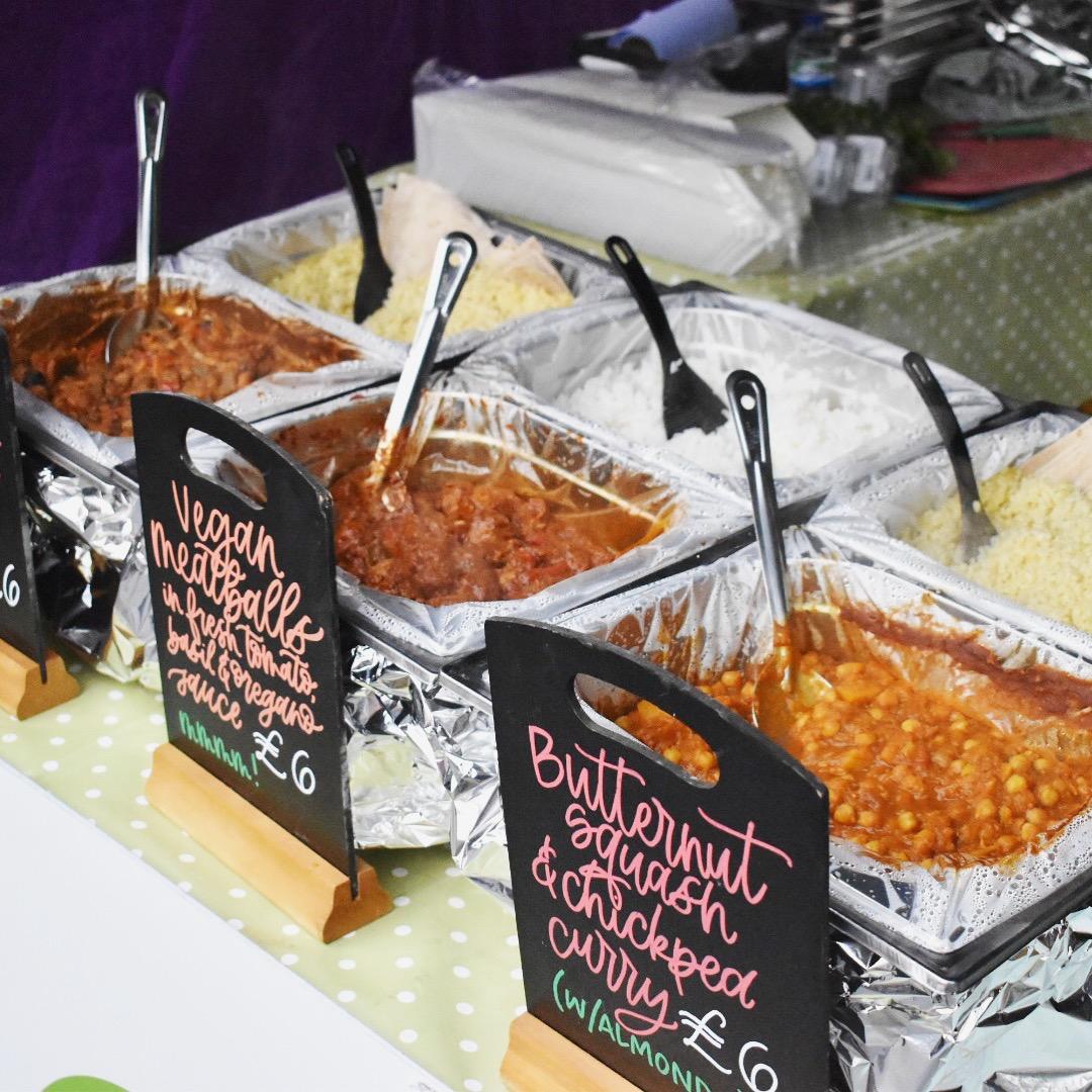 Vegan street food at Broadway Market