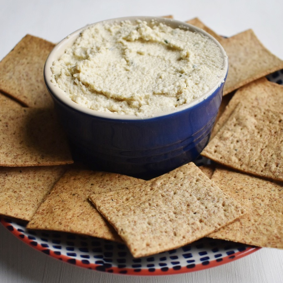Vegan cashew cream cheese and chive recipe healthy quick and easy